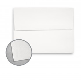 Royal Sundance Ultra White Envelopes - A7 (5 1/4 x 7 1/4) 80 lb Text Felt  30% Recycled 250 per Box