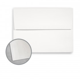 Royal Sundance Ultra White Envelopes - A6 (4 3/4 x 6 1/2) 80 lb Text Linen  30% Recycled 250 per Box