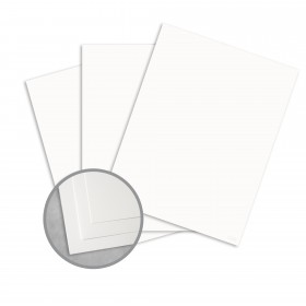 Royal Sundance Ultra White Card Stock - 8 1/2 x 11 in 80 lb Cover Smooth  30% Recycled 250 per Package