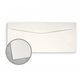 Royal Sundance Warm White Envelopes - No. 10 Commercial (4 1/8 x 9 1/2) 80 lb Text Smooth  30% Recycled 500 per Box