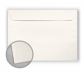 Royal Sundance Warm White Envelopes - No. 9 1/2 Booklet (9 x 12) 80 lb Text Felt  30% Recycled 500 per Carton
