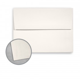 Royal Sundance Warm White Envelopes - A8 (5 1/2 x 8 1/8) 80 lb Text Felt  30% Recycled 250 per Box
