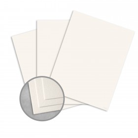 Royal Sundance Warm White Paper - 25 x 38 in 80 lb Text Felt  30% Recycled 750 per Carton