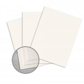 Royal Sundance Warm White Card Stock - 26 x 40 in 80 lb Cover Felt  30% Recycled 300 per Carton