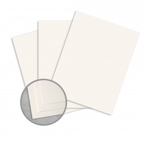 Royal Sundance Warm White Card Stock - 26 x 40 in 110 lb Cover Smooth  30% Recycled 300 per Carton
