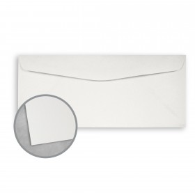 Royal Sundance White Envelopes - No. 10 Commercial (4 1/8 x 9 1/2) 80 lb Text Smooth  30% Recycled 500 per Box