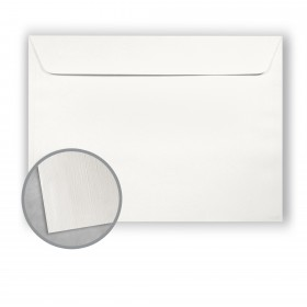 Royal Sundance White Envelopes - No. 9 1/2 Booklet (9 x 12) 80 lb Text Linen  30% Recycled 500 per Carton
