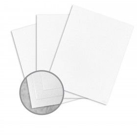 Royal Sundance White Card Stock - 8 1/2 x 11 in 80 lb Cover Smooth Fiber  30% Recycled 250 per Package