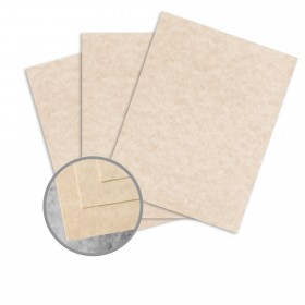 Skytone Brown Card Stock - 8 1/2 x 11 in 65 lb Cover Vellum  30% Recycled 250 per Package