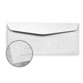 Skytone Pewter Envelopes - No. 10 Commercial (4 1/8 x 9 1/2) 60 lb Text Vellum 500 per Box