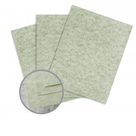 Skytone Sagebrush Card Stock - 8 1/2 x 11 in 65 lb Cover Vellum  30% Recycled 250 per Package