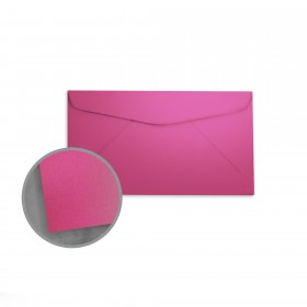 so..silk Beauty Pink Envelopes - No. 6 3/4 Regular (3 5/8 x 6 1/2) 92 lb Cover Super Smooth C/2S 200 per Box