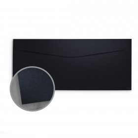 so..silk Black Style Envelopes - No. 10 Commercial (4 1/8 x 9 1/2) 92 lb Cover Super Smooth C/2S 200 per Box