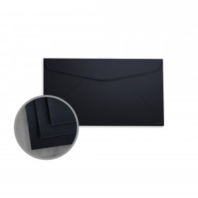 so..silk Black Style Envelopes - No. 6 3/4 Regular (3 5/8 x 6 1/2) 92 lb Cover Super Smooth C/2S 200 per Box