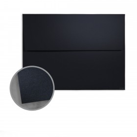 so..silk Black Style Envelopes - A7 (5 1/4 x 7 1/4) 92 lb Cover Super Smooth C/2S 150 per Box