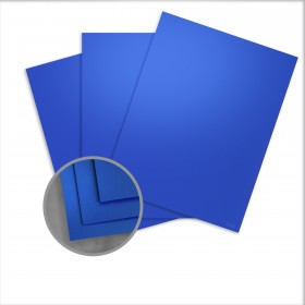 so..silk Fair Blue Card Stock - 28.3 x 40.2 in 92 lb Cover Super Smooth C/2S 100 per Package