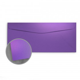 so..silk Fashion Purple Envelopes - No. 10 Commercial (4 1/8 x 9 1/2) 92 lb Cover Super Smooth C/2S 200 per Box