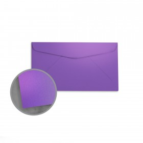 so..silk Fashion Purple Envelopes - No. 6 3/4 Regular (3 5/8 x 6 1/2) 92 lb Cover Super Smooth C/2S 200 per Box