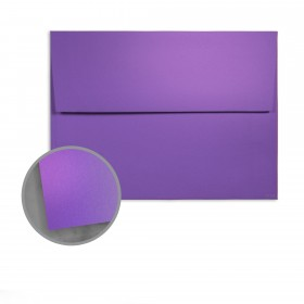 so..silk Fashion Purple Envelopes - A10 (6 x 9 1/2) 92 lb Cover Super Smooth C/2S 150 per Box
