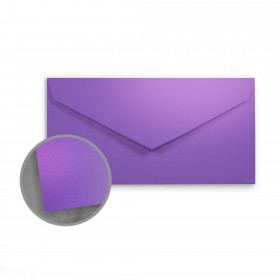 so..silk Fashion Purple Envelopes - Monarch (3 7/8 x 7 1/2) 92 lb Cover Super Smooth C/2S 200 per Box