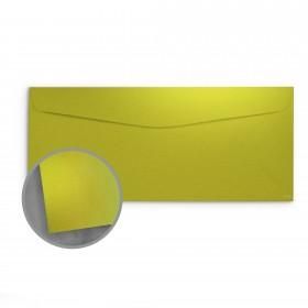 so..silk Shocking Green Envelopes - No. 10 Commercial (4 1/8 x 9 1/2) 92 lb Cover Super Smooth C/2S 200 per Box