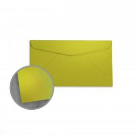 so..silk Shocking Green Envelopes - No. 6 3/4 Regular (3 5/8 x 6 1/2) 92 lb Cover Super Smooth C/2S 200 per Box