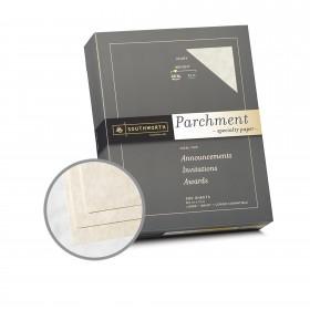 Southworth Specialty Parchment Ivory Paper - 8 1/2 x 11 in 24 lb Bond Parchment 500 per Ream