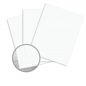 Specialty Digital Synthetic White Card Stock - 12 x 18 in 10 mils PVC 250 per Carton