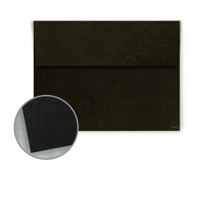 Speckletone Black Envelopes - A1 (3 5/8 x 5 1/8) 70 lb Text Vellum 100% Recycled 250 per Box