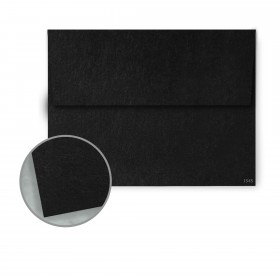 Speckletone Black Envelopes - A7 (5 1/4 x 7 1/4) 70 lb Text Vellum  100% Recycled 250 per Box