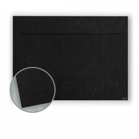 Speckletone Black Envelopes - No. 6 1/2 Booklet (6 x 9) 70 lb Text Vellum  100% Recycled 500 per Carton