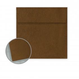 Speckletone Brown Envelopes - No. 6 Square (6 x 6) 70 lb Text Vellum  100% Recycled 250 per Box