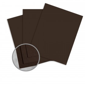 Speckletone Chocolate Card Stock - 26 x 40 in 100 lb Cover Vellum  100% Recycled 250 per Carton