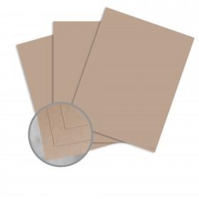 Speckletone Kraft Card Stock - 26 x 40 in 80 lb Cover Vellum 100% Recycled 500 per Carton