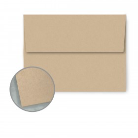Speckletone Oatmeal Envelopes - A7 (5 1/4 x 7 1/4) 70 lb Text Vellum  100% Recycled 250 per Box