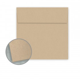 Speckletone Oatmeal Envelopes - No. 6 Square (6 x 6) 70 lb Text Vellum  100% Recycled 250 per Box