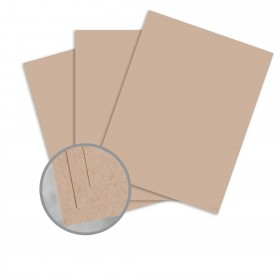 Speckletone Oatmeal Card Stock - 8 1/2 x 11 in 80 lb Cover Vellum 100% Recycled 250 per Package