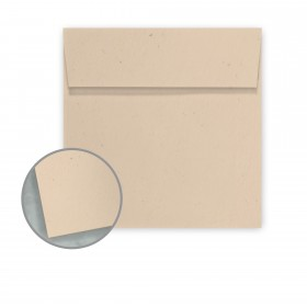 Speckletone Sand Envelopes - No. 6 Square (6 x 6) 70 lb Text Vellum  100% Recycled 250 per Box