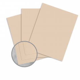 Speckletone Sand Card Stock - 8 1/2 x 11 in 80 lb Cover Vellum 100% Recycled 250 per Package