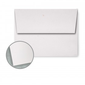 Speckletone Starch White Envelopes - A2 (4 3/8 x 5 3/4) 70 lb Text Vellum  100% Recycled 250 per Box