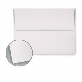 Speckletone Starch White Envelopes - A6 (4 3/4 x 6 1/2) 70 lb Text Vellum  100% Recycled 250 per Box