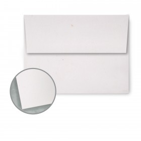 Speckletone Starch White Envelopes - A7 (5 1/4 x 7 1/4) 70 lb Text Vellum  100% Recycled 250 per Box