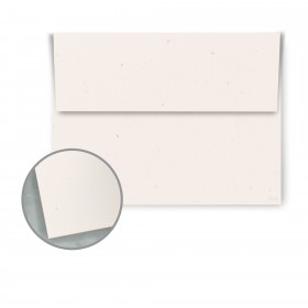 Speckletone True White Envelopes - A6 (4 3/4 x 6 1/2) 70 lb Text Vellum  100% Recycled 250 per Box