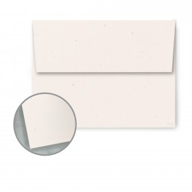 Speckletone True White Envelopes - A7 (5 1/4 x 7 1/4) 70 lb Text Vellum  100% Recycled 250 per Box
