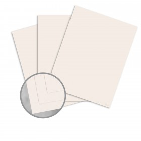 Speckletone True White Card Stock - 8 1/2 x 11 in 80 lb Cover Vellum 100% Recycled 250 per Package