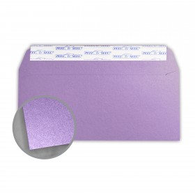Stardream Amethyst Envelopes - No. 10 Commercial Peel & Seal (4 1/8 x 9 1/2) 81 lb Text Metallic C/2S 500 per Box