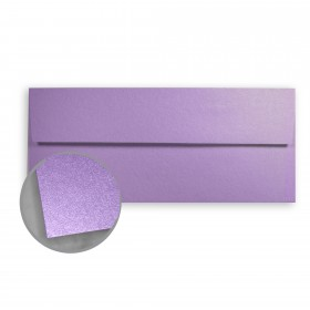 Stardream Amethyst Envelopes - No. 10 Square Flap (4 1/8 x 9 1/2) 81 lb Text Metallic C/2S 500 per Box