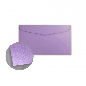 Stardream Amethyst Envelopes - No. 6 3/4 Regular (3 5/8 x 6 1/2) 81 lb Text Metallic C/2S 400 per Box