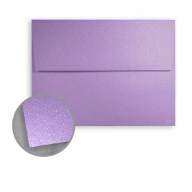 Stardream Amethyst Envelopes - A2 (4 3/8 x 5 3/4) 81 lb Text Metallic C/2S 250 per Box