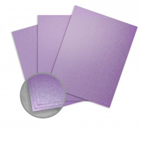 Stardream Amethyst Card Stock - 8 1/2 x 11 in 105 lb Cover Metallic C/2S 100 per Package